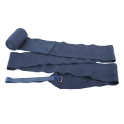 Harry's Horse Bandages elastisch/fleece - Blauw, One size