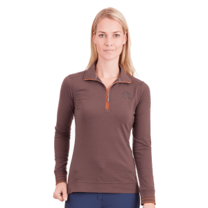 anky damesshirt long sleeve polo