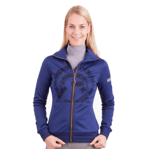 anky damesvest technostretch blauw