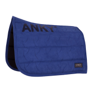 Anky Zadeldek Embroidery Dressage - Blauw, Full