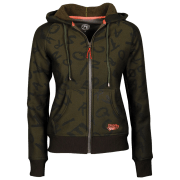 Harry's Horse Dames Hoodie Forest Night - Groen, L/40
