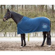 Harry's Horse Fleecedeken LouLou winter 17 - Blauw, 125