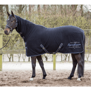Harry's Horse Fleecedeken Winter 17 met hals - Zwart, 215