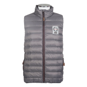 HKM Heren Bodywarmer Highland - Grijs, XL/52