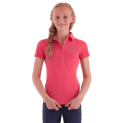 Anky Kinder Polo Essential - Rood, 140