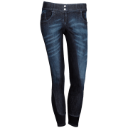 Harry's Horse Damesrijbroek Lewes Plus - Blauw, 42