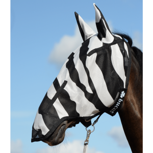 bucas full face mask zebra