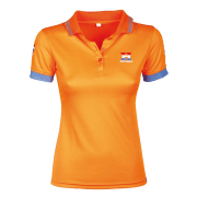Harry's Horse Dames Polo Dutch Orange - Oranje, L/40