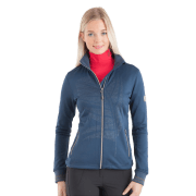 Anky Dames Vest Printed Technostretch - Blauw, S/36