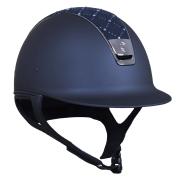 Samshield Shadowmatt met Lozenge Swarovski Top Blue Metallic Blue
