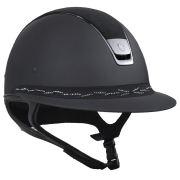 Samshield Miss Shield Shadowmatt Alcantara Top en Flower Swarovski Frontal Band